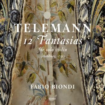 Cover Telemann: 12 Fantasias for Solo Violin, TWV 40