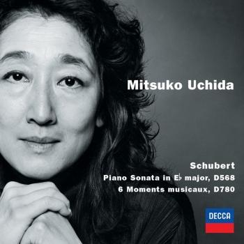 Cover Schubert: Piano Sonata in E Flat Major; 6 Moments Musicaux