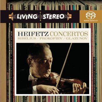 Cover Sibelius / Prokofiev / Glazunov: Violin Concertos