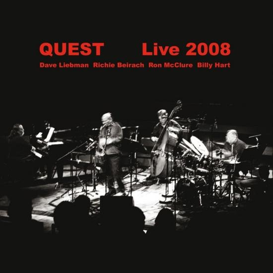 Cover Quest Live 2008