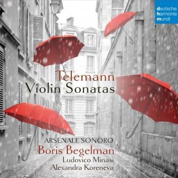 Cover Telemann: Violin Sonatas