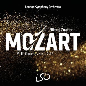 Cover Mozart: Violin Concertos Nos 1, 2 & 3