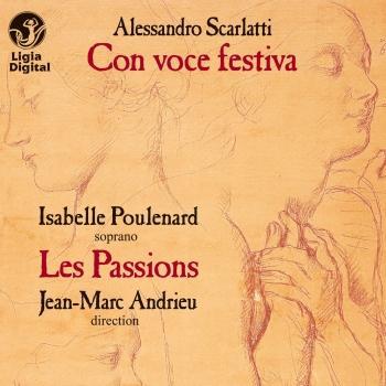 Cover Scarlatti: Con voce festiva (Cantate e concerti)