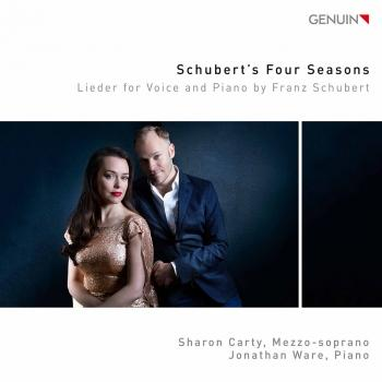 Cover Schubert's Four Seasons: Lieder for Voice & Piano by Franz Schubert