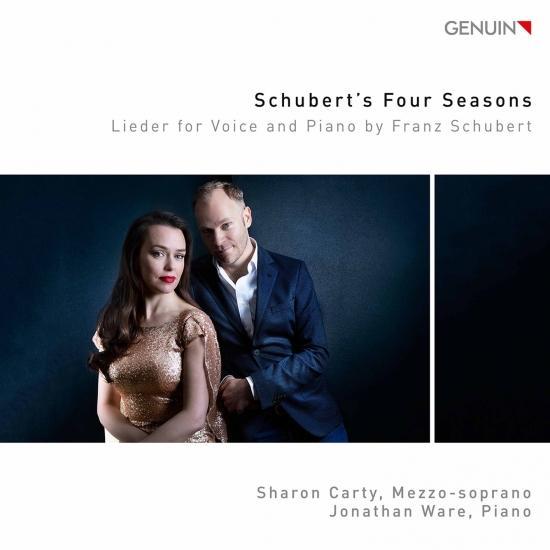 Cover Schubert's Four Seasons: Lieder for Voice & Piano by Franz Schubert