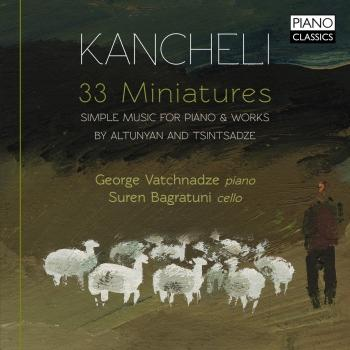 Cover Kancheli: 33 Miniatures