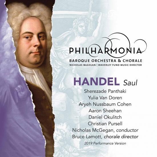 Cover Handel: Saul, HWV 53 (Live)