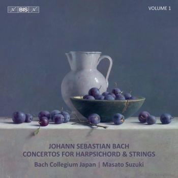 Cover Bach: Concertos for Harpsichord & Strings, Vol. 1
