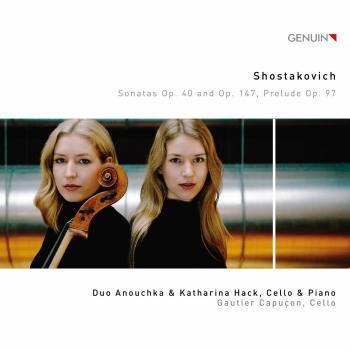 Cover Shostakovich: Sonatas, Op. 40 & Op. 147