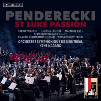 Cover Penderecki: St. Luke Passion (Live)