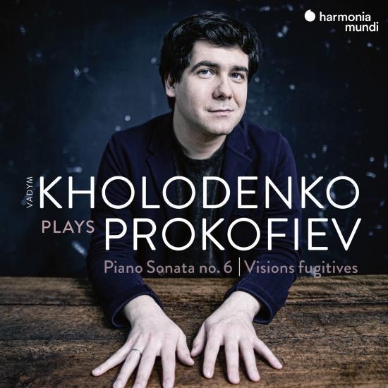 Cover Prokofiev: Sonata No. 6 & Visions fugitives