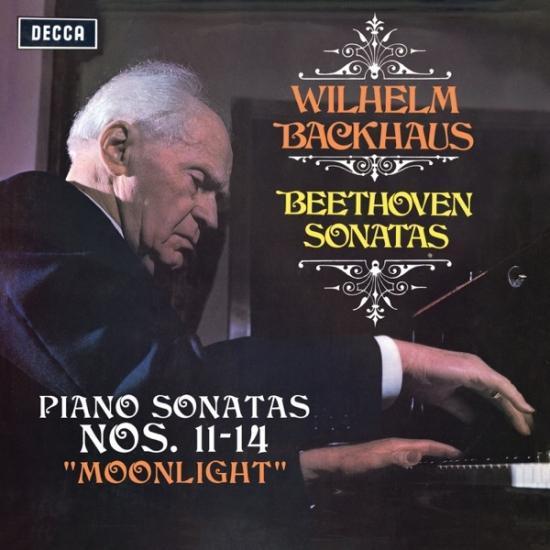 Cover Beethoven: Piano Sonatas Nos. 11, 12, 13 & 14 Moonlight (Remastered)