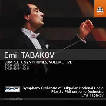 Cover Emil Tabakov: Complete Symphonies, Vol. 5