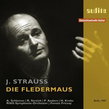 Cover Johann Strauss: Die Fledermaus