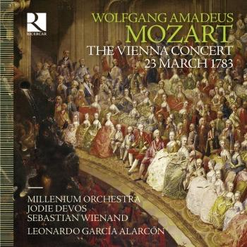 Cover Mozart: The Vienna Concert, 23 March 1783