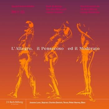 Cover Handel: L'Allegro, il Penseroso ed il Moderato, HWV 55