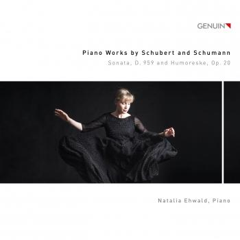 Cover Schubert: Piano Sonata No. 20 in A Major, D. 959 - Schumann: Humoreske in B-Flat Major, Op. 20