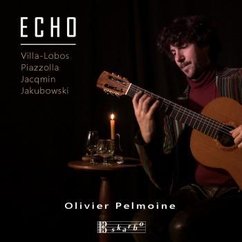 Cover Piazzolla, Jacqmin, Jakubowski & Villa-Lobos: Guitar Works