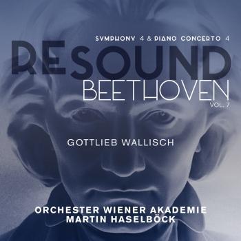 Cover Beethoven: Symphony No. 4 & Piano Concerto No. 4 (Resound Collection, Vol. 7)