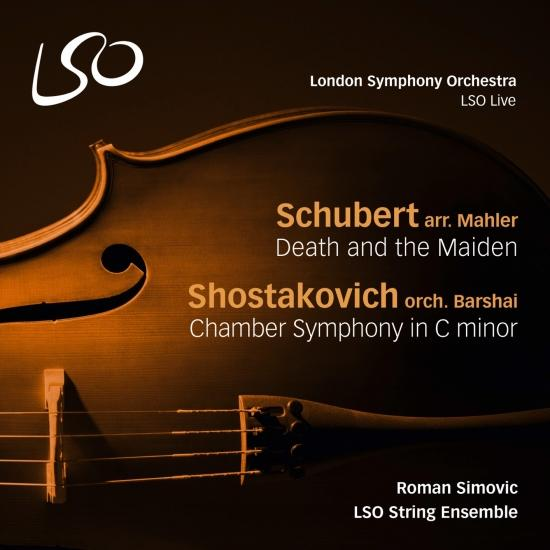 Cover Schubert: Death and the Maiden - Shostakovich: Chamber Symphony in C Minor