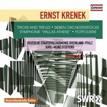 Cover Krenek: Orchestral Works