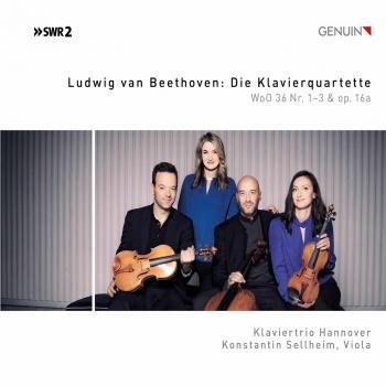 Cover Beethoven: Die Klavierquartette