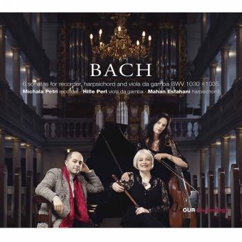 Cover J.S. Bach: Flute Sonatas BWVV 1030-1035 (Arr. for Recorder & Basso continuo)