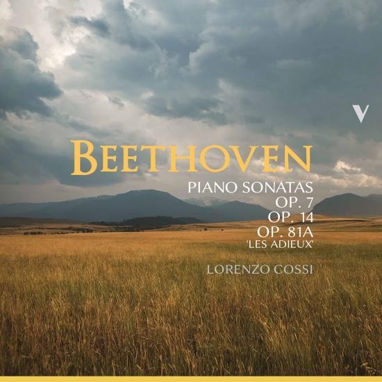 Cover Beethoven: Piano Sonatas Nos. 4, 9, 10 & 26