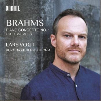 Cover Brahms: Piano Concerto No. 1, Op. 15 & 4 Ballades, Op. 10