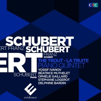 Cover Schubert: Piano Quintet The Trout