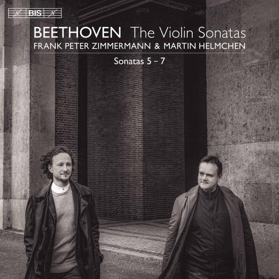 Cover Beethoven: Violin Sonatas Nos. 5-7