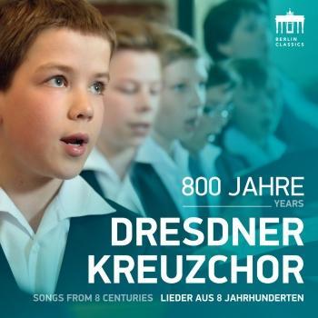 Cover 800 Jahre Dresdner Kreuzchor