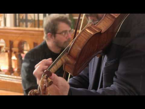 Video Mark Fewer & Hank Knox - Bach Sonatas for Violin + Harpsichord (Trailer)