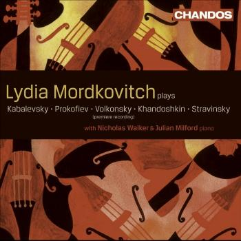 Cover Russian Works for Violin & Viola
