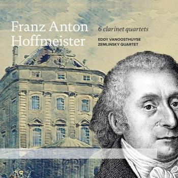 Cover Hoffmeister: 6 Clarinet Quartets