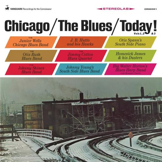 Cover Chicago / The Blues / Today! (Remastered)
