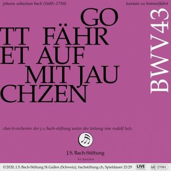 Cover Bachkantate, BWV 43 - Gott fähret auf mit Jauchzen