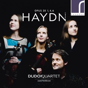 Cover Haydn: String Quartets, Op. 20, Volume 2, Nos. 1, 4 & 6