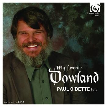 Cover John Dowland: My favorite Dowland