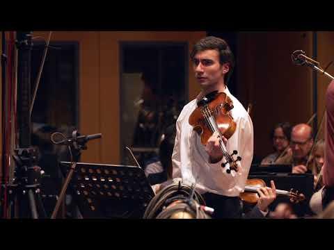 Video David Aaron Carpenter records Alexey Shor: Lullaby for Mark (viola)