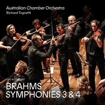 Cover Brahms: Symphonies 3 and 4