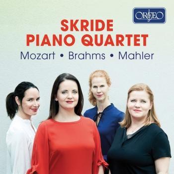 Cover Mozart, Brahms & Mahler: Piano Quartets