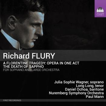 Cover Flury: A Florentine Tragedy & The Death of Sappho