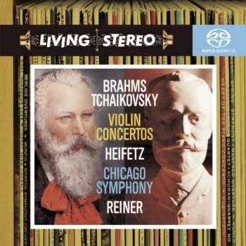 Cover Brahms & Tchaikovsky: Violin Concertos
