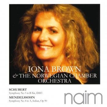 Cover Mendelssohn: Symphony No 4 / Schubert: Symphony No 5