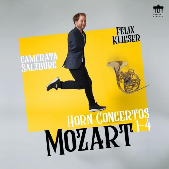 Cover Mozart: Horn Concertos 1-4