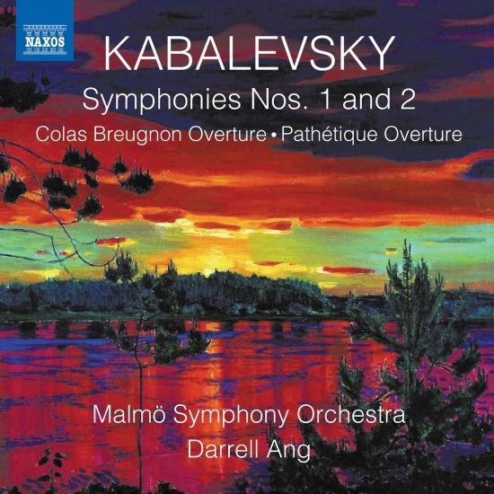 Cover Kabalevsky: Works for Orchestra