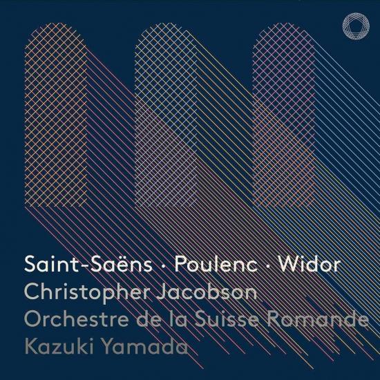 Cover Saint-Saëns, Poulenc & Widor: Works for Organ