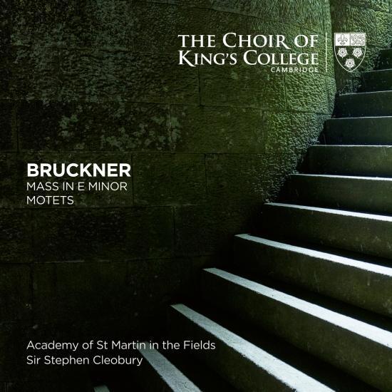 Cover Bruckner: Mass in E Minor, Motets