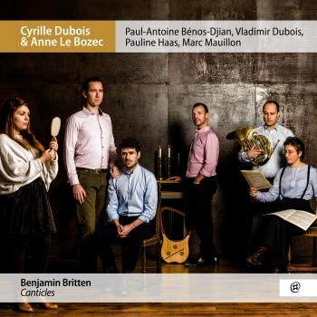 Cover Britten: Canticles